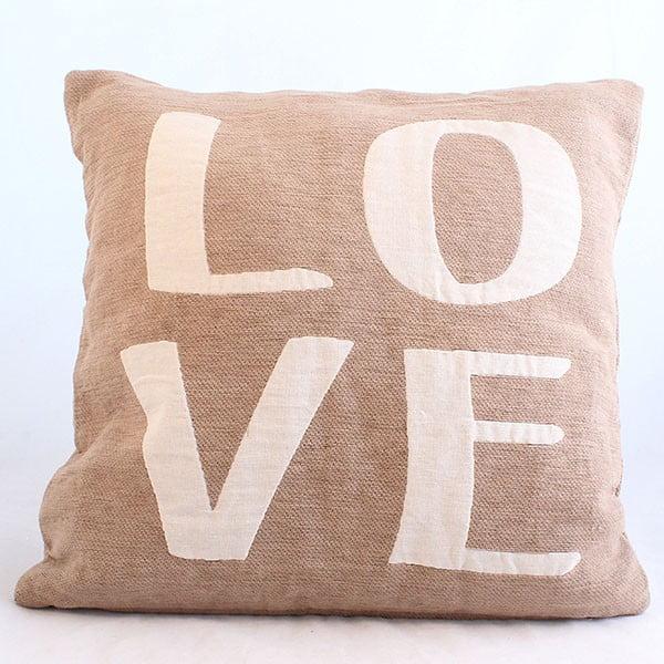 Návlek na polštář Love, 40x40 cm