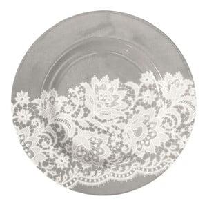 Malý talíř Liva Warm Grey, 15 cm