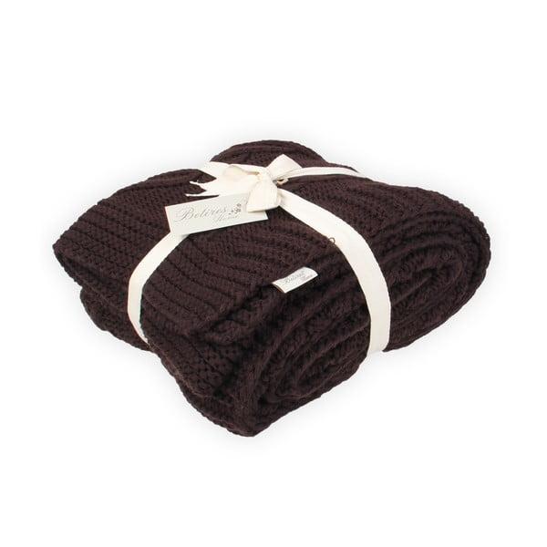 Hnědá deka Teto