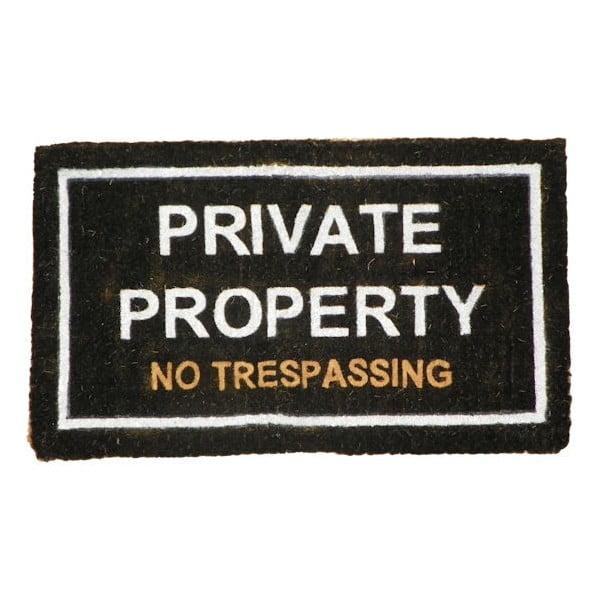 Rohožka Private Property, 75x45 cm