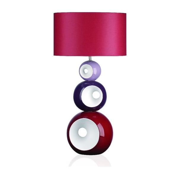 Stolní lampa Orion, růžová