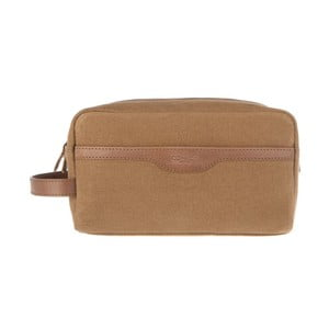 Kožená kosmetická taška Lake Vintage Brown