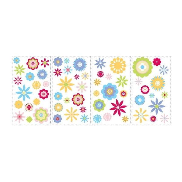 Samolepka Graphic Flowers