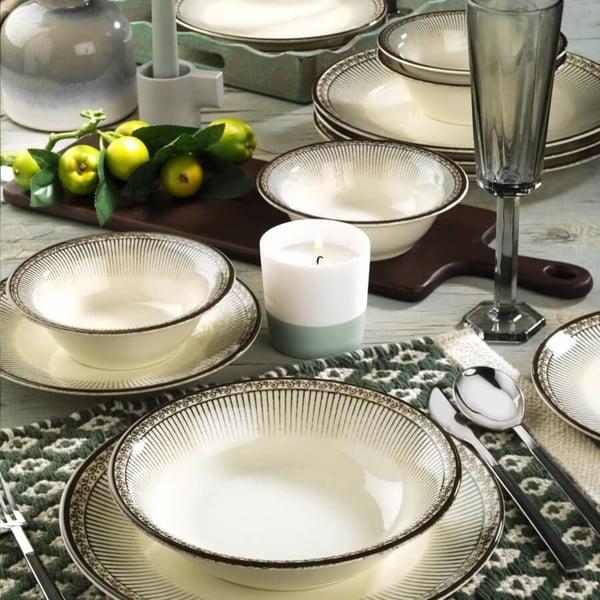 24dílná sada porcelánového nádobí Kutahya Galio