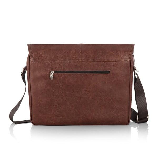 Pánská taška Solier S15, vintage hnědá