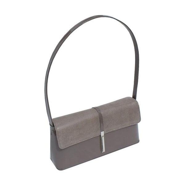 Kožená kabelka/psaníčko Boscollo Grey 2297
