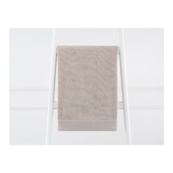 Terra bézs pamut törölköző, 50 x 80 cm - Madame Coco