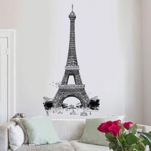 Samolepka Eiffel Tower, 76x150 cm
