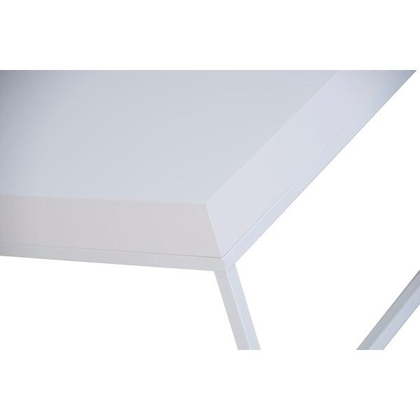 Bílý konferenční stolek TemaHome Petra