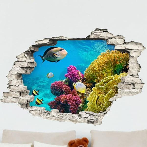 Autocolant Ambiance Finish Blue Sea, 60 x 90 cm