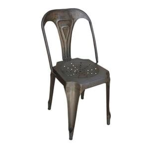 Kovová židle Chaise Naturelle