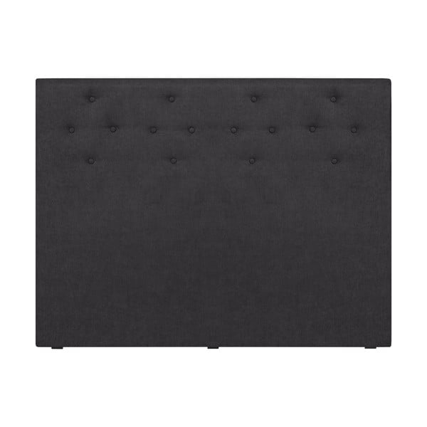 Tmavě šedé čelo postele Windsor & Co Sofas Phobos, 140 x 120 cm