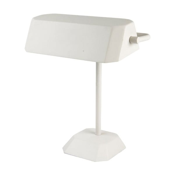 Stolní lampa Metal Notary, metal white