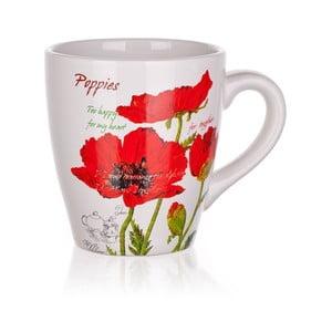 Hrneček Red Poppies, 500 ml
