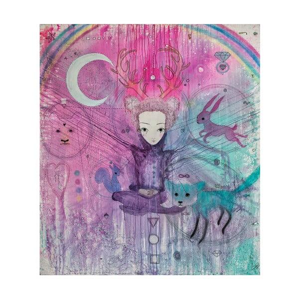 Autorský plakát od Lény Brauner Smír, 60x67 cm