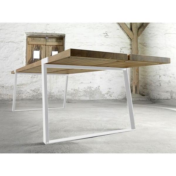 Jídelní stůl Gigant Nature/White, 290x100x74 cm