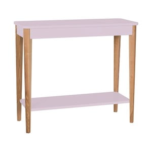 Světle růžový konzolový stolek Ragaba Ashme, šířka85cm
