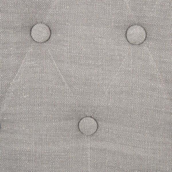 Sada 2 světle šedých židlí Vivonita Thena