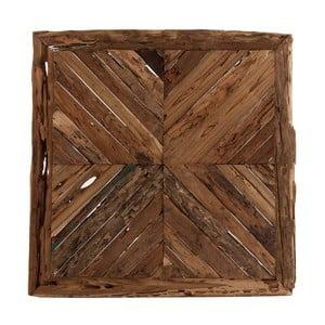Nástěnný dekorativní panel z teakového dřeva VICAL HOME Ruhno