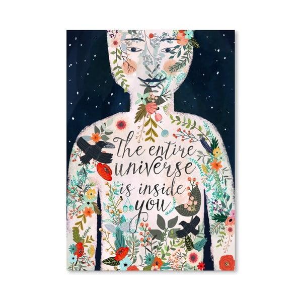 Plakát od Mia Charro - The Entire Universe
