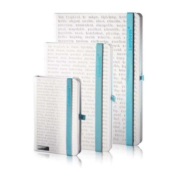 Zápisník The Ona White Blue, A6