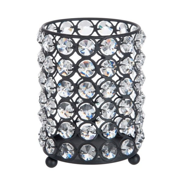 Svícen Glass Ball Gliter, 12x14 cm