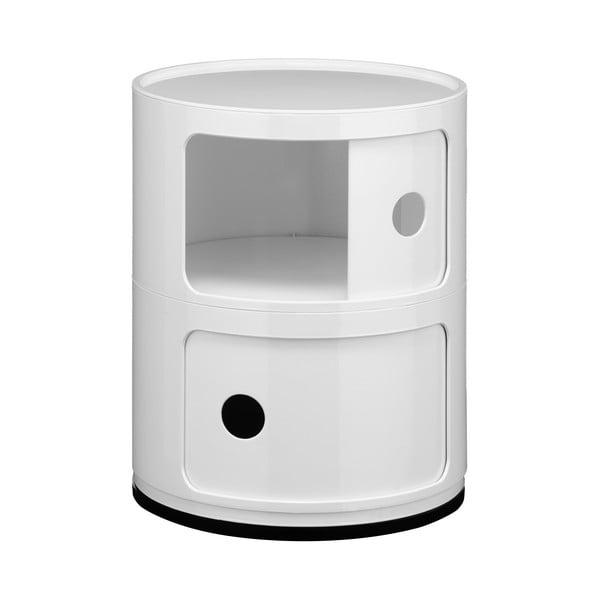 Stolek Cabinet White