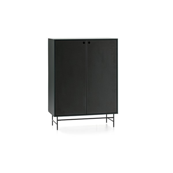 Černo-zelená skříňka Teulat Punto