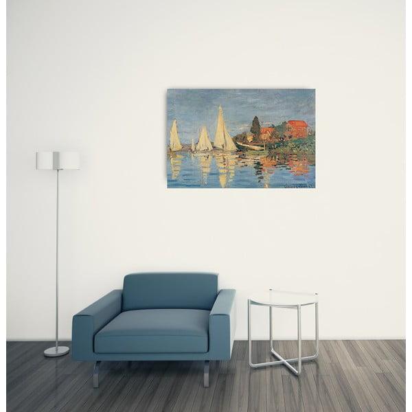Obraz Monet - Regata at Bargenteuil, 90x60 cm