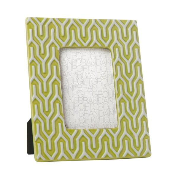 Zelený rámeček na fotografie Brandani