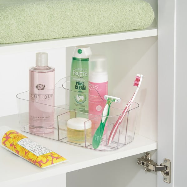 Organizér iDesign Clarity Both Tote Clear