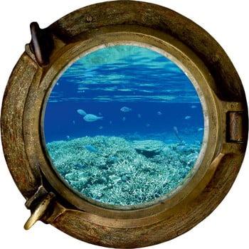 Autocolant de perete Ocean 33 x 33 cm