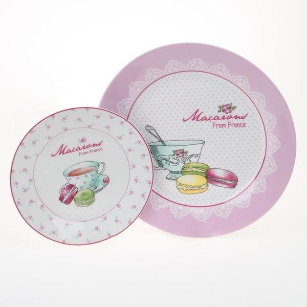 Sada 2 talířů Macarons