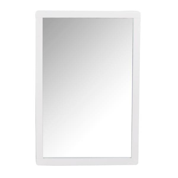 Biele dubové zrkadlo Rowico Gorgona
