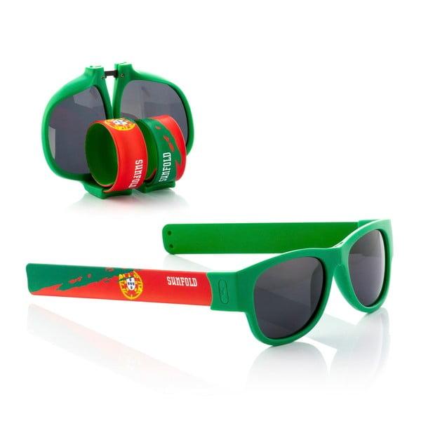Zelené sluneční srolovatelné brýle InnovaGoods Sunfold Mondial Portugal