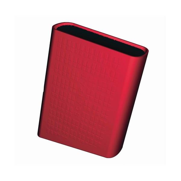 Blok na nože, červený