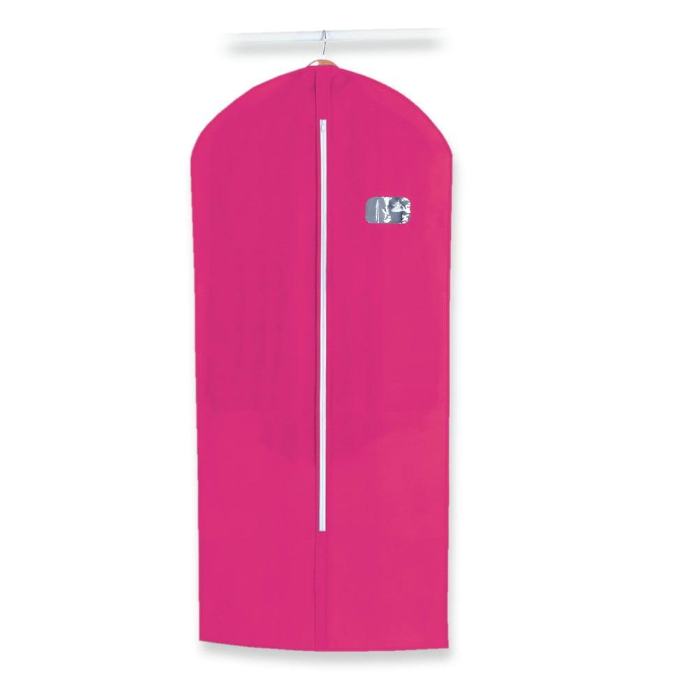 Růžový obal na oblek Jocca Suit, 136 x 60 cm