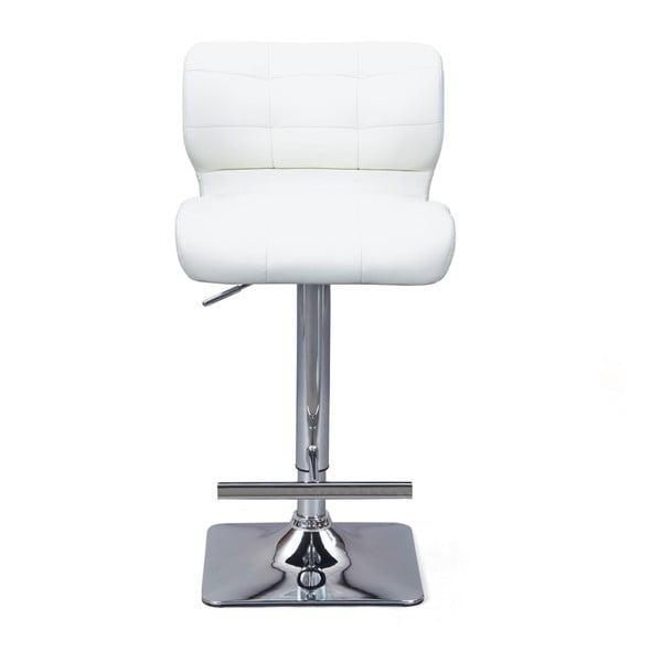 Sada 2 bílých barových židlí Interlink Escondido