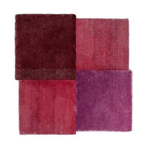 Červený koberec EMKO Over Square, 250 x 260 cm