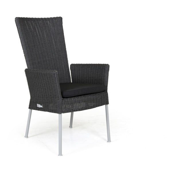 Sada 2 polohovatelných šedých zahradních židlí Brafab Somerset