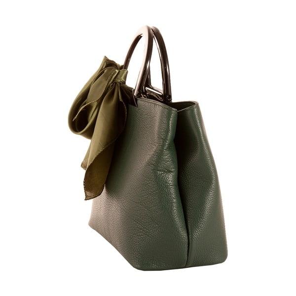 Zelená kabelka z pravé kůže Andrea Cardone Angelo