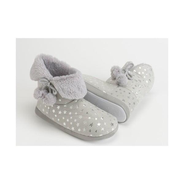 Papuče Grey Stars, vel. 37/38