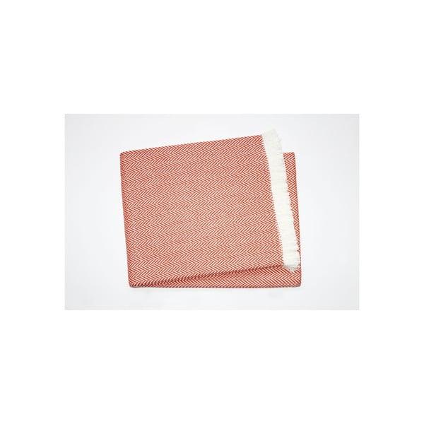 Lehká deka Skyline Toffee, 140x250 cm