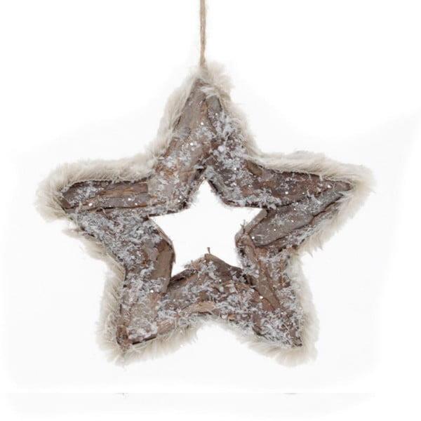 Závěsná dekorace Brown Star