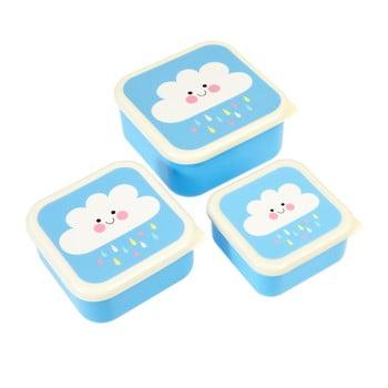 Set 3 cutii pentru gustări Rex London Happy Cloud imagine