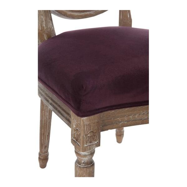 Vínová dubová židle Versailles