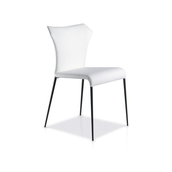 Bílá jídelní židle Ángel Cerdá Isabel