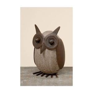 Dekorace Owl Stone
