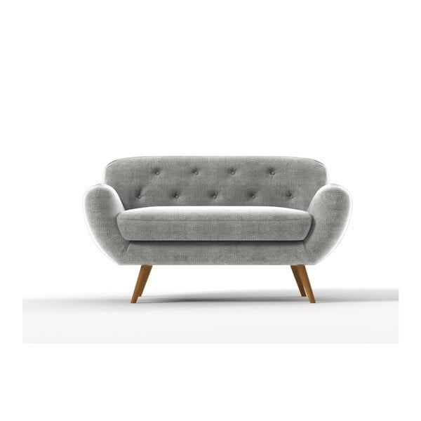 Sofa Zefir pro dva, šedé