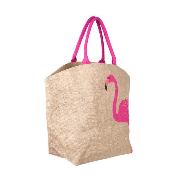 Plátěná taška Flamingo
